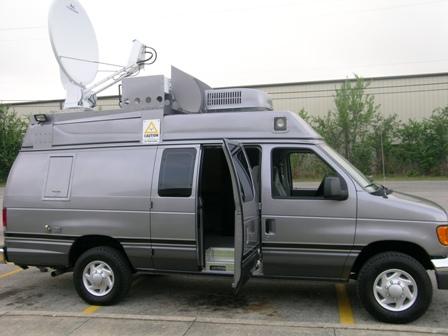 AS-11 HR Broadcast Satellite News Gathering Van
