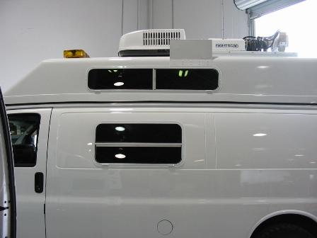 Military Surveillance Van