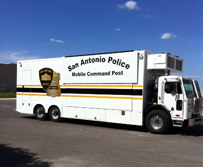 SAPD Mobile Command Post Vehicle