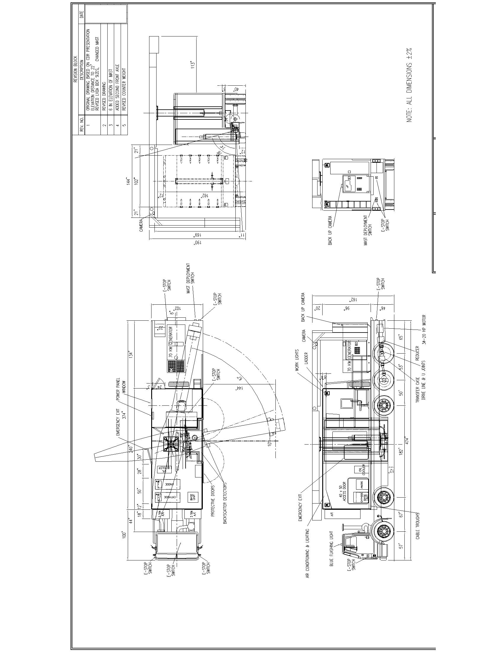 Mobile X Ray Cx2500 Vehicle Specifications Camera Flash Circuit Diagram